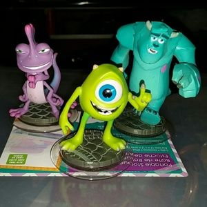 Monster inc characters